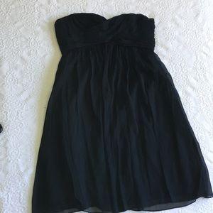 J Crew Size 8 Silk Taffeta Dress